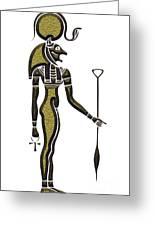 Bastet - Goddess Of Ancient Egypt Greeting Card