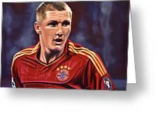Bastian Schweinsteiger Greeting Card