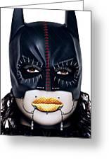 Bat Girl Greeting Card