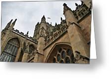Bath Abbey Greeting Card