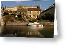 Bath Canalside Greeting Card
