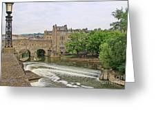 Bath On River Avon 8482 Greeting Card