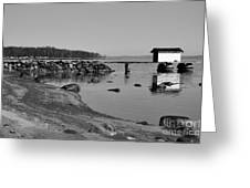 Bathing Jetty 2 Greeting Card