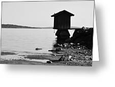 Bathing Jetty 4 Greeting Card