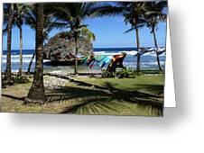 Bathsheba Barbados Greeting Card