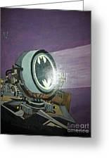 Batman Beam Greeting Card