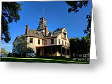 Batsto Village Mansion Greeting Card by Olivier Le Queinec