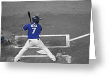 Batters Up Greeting Card