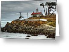 Battery Point Lighthouse 1 B Greeting Card