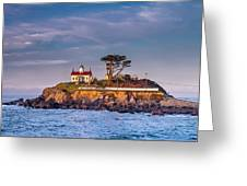 Battery Point Lighthouse Morning Greeting Card