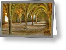Battle Abbey Cloisters Greeting Card
