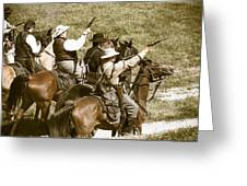 Battle Charge Greeting Card