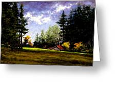 Battle Ground Park Greeting Card