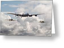 Battle Of Britain - Memorial Flight Greeting Card