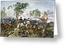 Battle Of Eutaw Springs Greeting Card