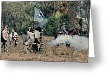 Battle Of Franklin - 3 Greeting Card by Kae Cheatham