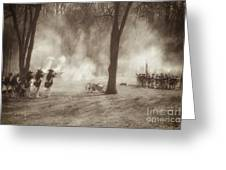 Battle Of Guilford Court House Greeting Card