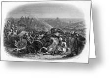 Battle Of Meeanee Sind Campaign - Greeting Card