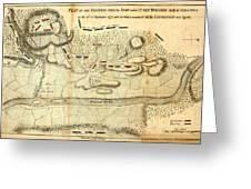 Battle Of Saratoga Greeting Card
