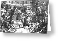Battle Of Sedan, 1870 Greeting Card