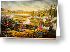 Battle Of Stones River Greeting Card