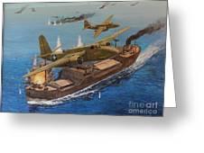 Battle Of The Bismark Sea Greeting Card