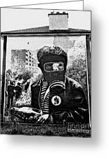 Battle Of The Bogside Mural II Greeting Card