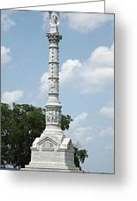 Battle Of Yorktown Monument Greeting Card