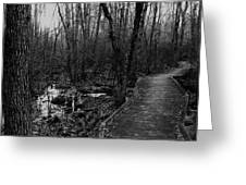 Battle Road Boardwalk Greeting Card
