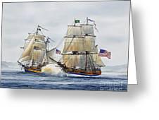 Battle Sail Greeting Card