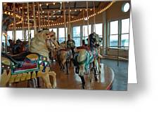 Battle Ship Cove Carousel Greeting Card