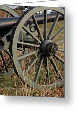Battlefield Cannon  Greeting Card