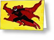 Batwoman Greeting Card