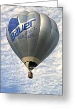 Bauer Ballon Greeting Card