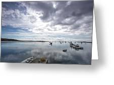 Bay Area Boats II Greeting Card