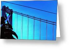 Bay Bridge 19702 Greeting Card