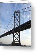 Bay Bridge San Francisco Greeting Card
