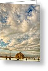 Bay Clouds Greeting Card