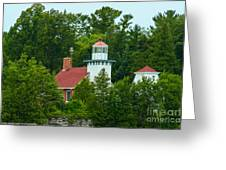 Bay Of Green Bay Lighthouse Greeting Card