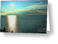 Bay Of Green Bay Wi Greeting Card