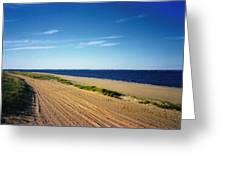 Bay Of Keyport Greeting Card