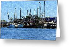 Bay Side Greeting Card