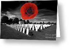 Bayeaux Cemetry  Greeting Card
