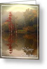 Bayou Christmas Greeting Card