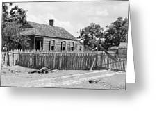 Bayou Cottage, 1938 Greeting Card