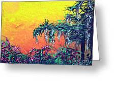 Bayou Honeymoon Greeting Card