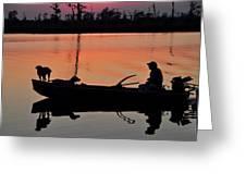 Bayou Patrol Greeting Card