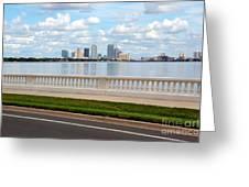Bayshore Boulevard Greeting Card