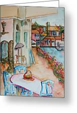 Bayside Bistro Greeting Card