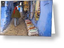 Bazaar Of Colors Greeting Card